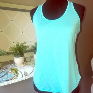 Aqua T-Back Active Tank Top